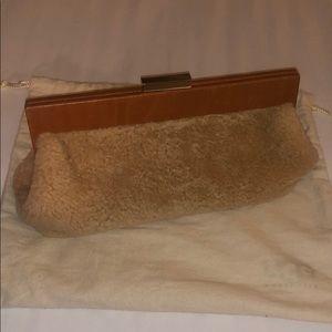 UGG sheepskin clutch